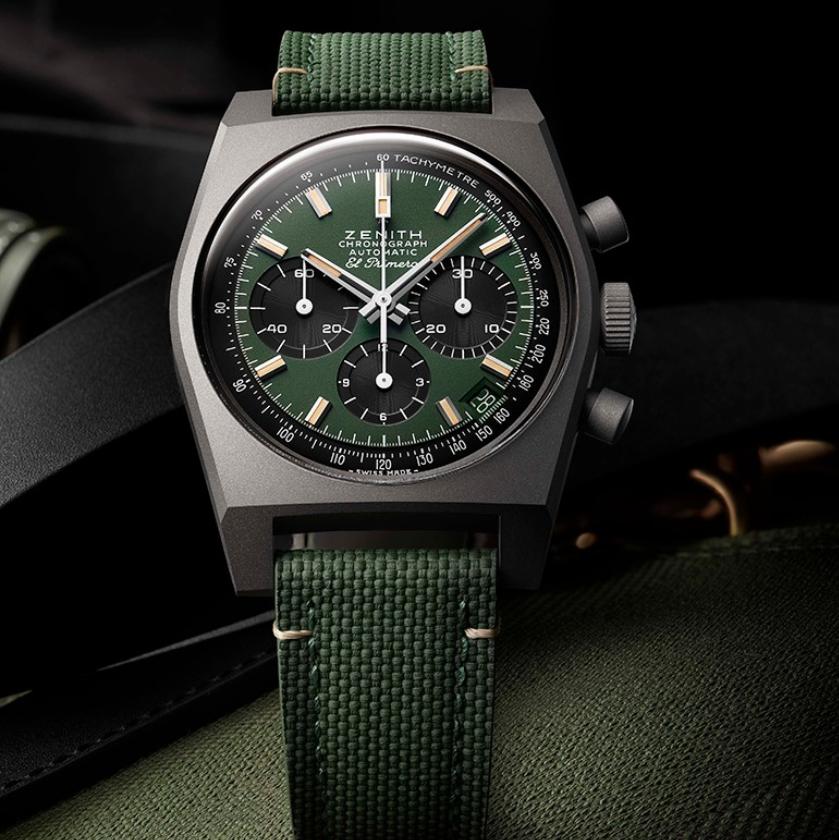 真力时新推CHRONOMASTER旗舰系列复刻版SAFARI腕表