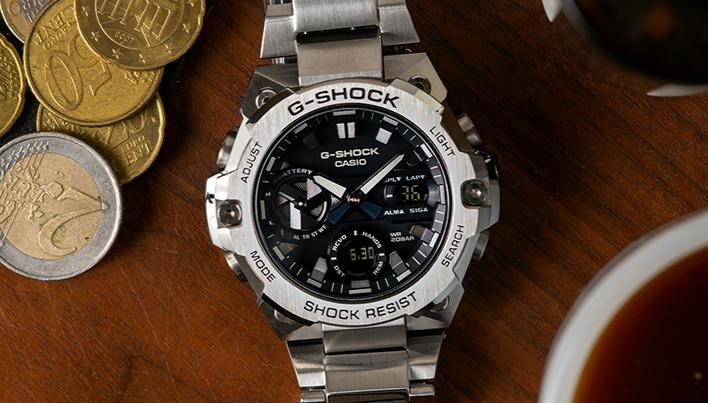 G-SHOCK最新的GST-B400-1A 介绍