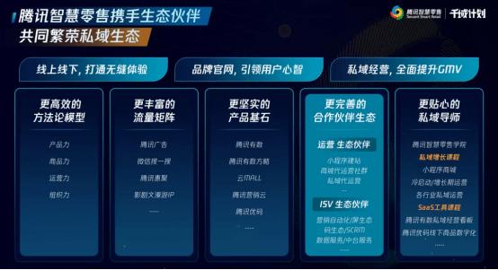 """腾讯智慧零售发布""""千域计划"""",共建私域繁荣生态"""