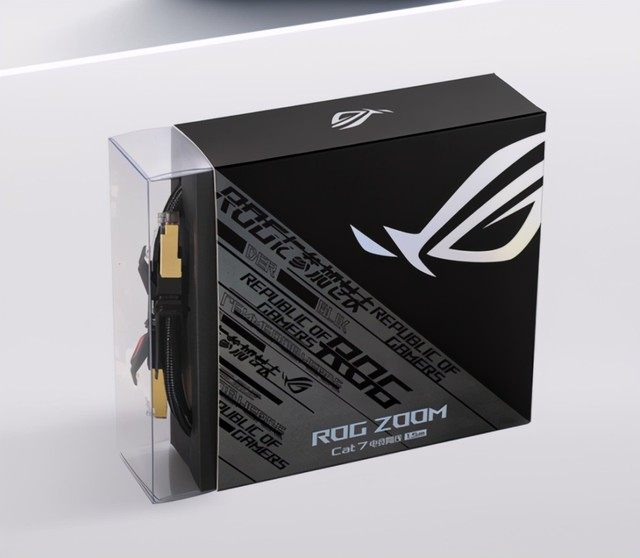 网线也电竞 ROG ZOOM CAT7售价149元起